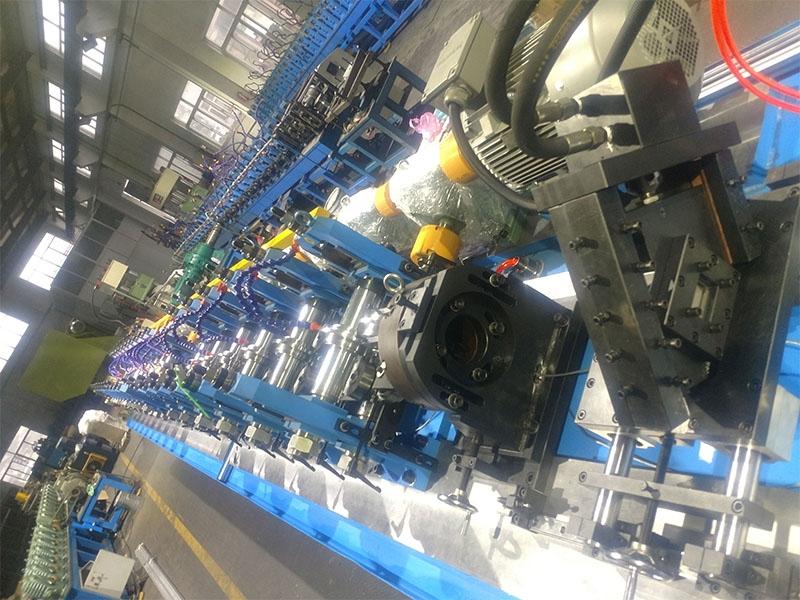 江苏8PT柜型材在线冲孔冷弯