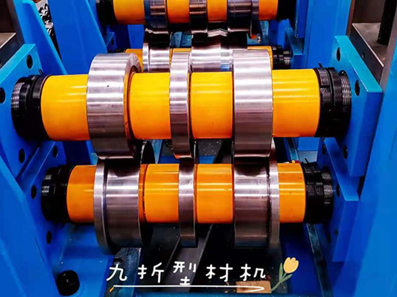 浙江九折型材机